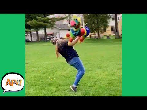 WOW! The Piñata FOUGHT BACK! 😂 | Funny Fails | AFV 2020
