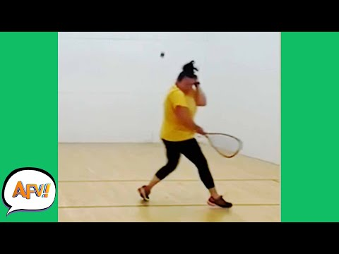 ROCKED By RACKETBALL! 😅 😆  | Funniest FAILS | AFV 2020