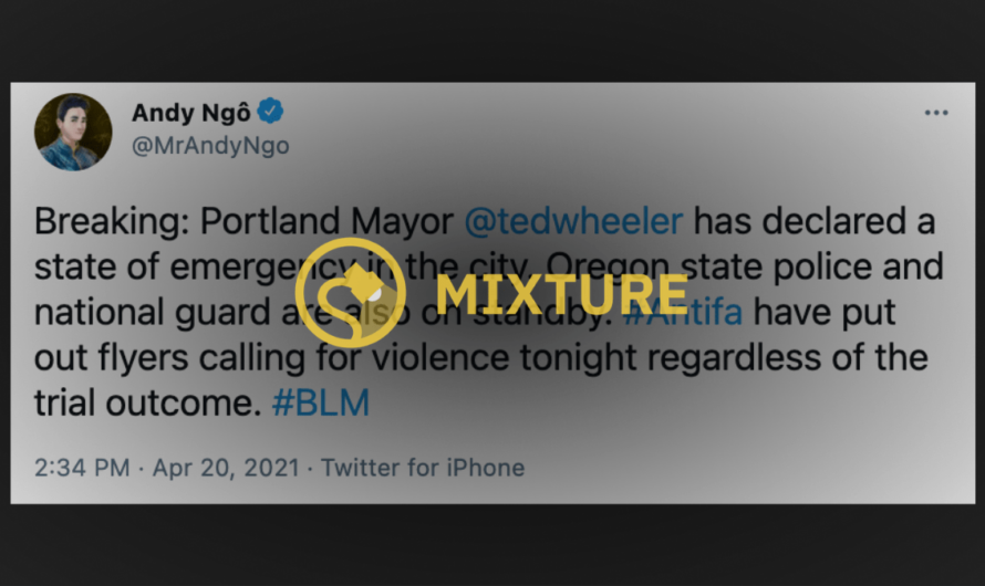 Did Portland Mayor Declare State of Emergency After Antifa, BLM Posters Called for Violence?