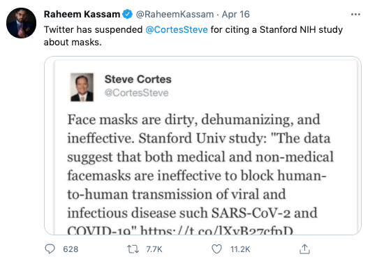 Did A 'Stanford/NIH' Study Conclude Masks Don't Work?