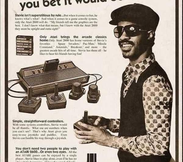 Did Stevie Wonder Endorse Atari Video Games?